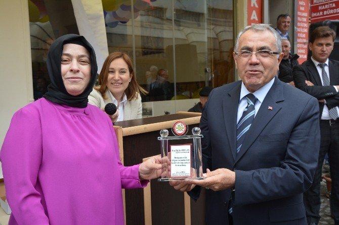 Bafra'da Hijyenik İş Yerlerine Ödül