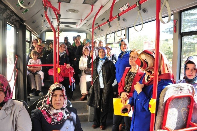 Ev Hanımlarının Karaman Gezileri Devam Ediyor