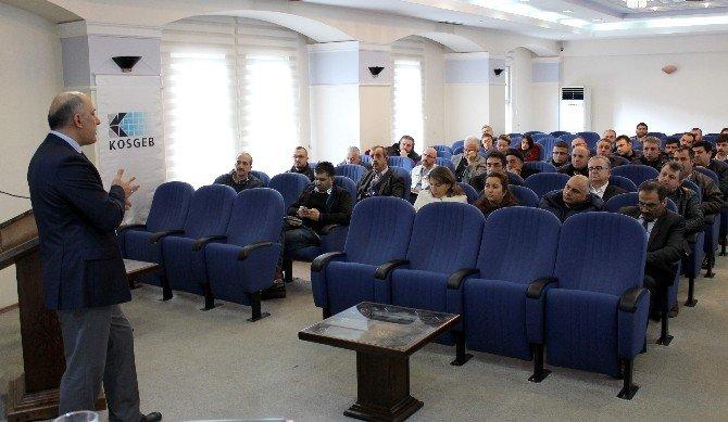 İşadamlarına KOBİ-gel Bilgilendirme Toplantısı Yapıldı
