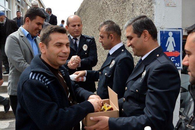 Pınarbaşı Emniyet Müdürlüğü, Şehit Polisler İçin Mevlit Okuttu