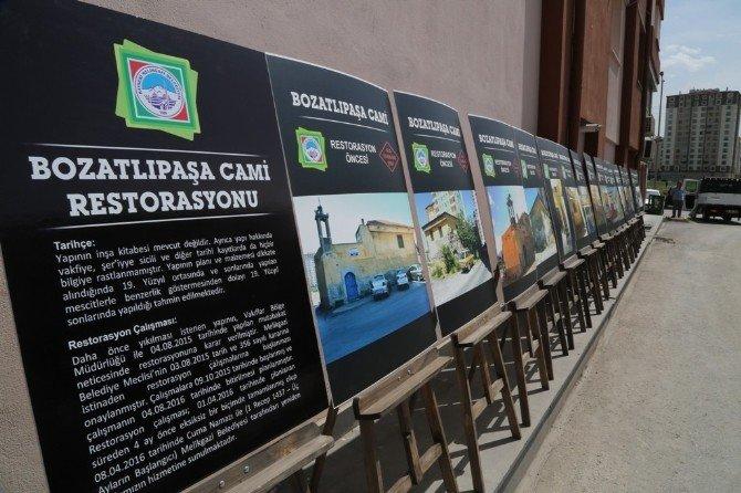 Aslına Uygun Olarak Onarılan Bozatlıpaşa Camii Yeniden İbadete Açıldı