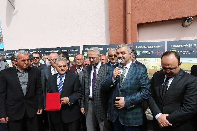 Başkan Çelik Bozatlıpaşa'da