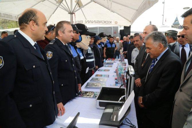 Kayseri'de polis sergisi açıldı