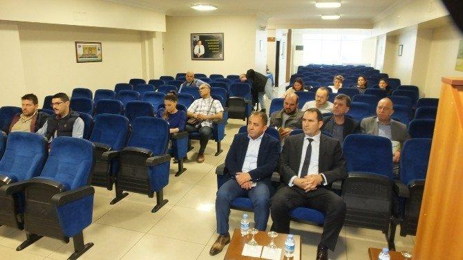Burhaniye'de KOBİ Gelişim Destek Programı Toplantısı