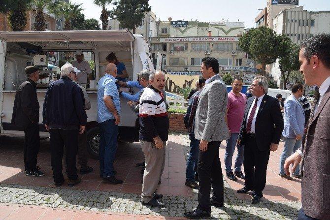Aliağa'da Şehit Polisler İçin Mevlid Okutuldu