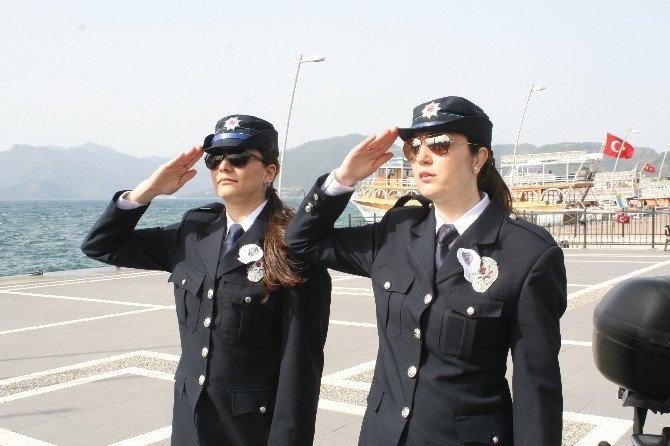Marmaris'te Polis Haftası Kutlamaları