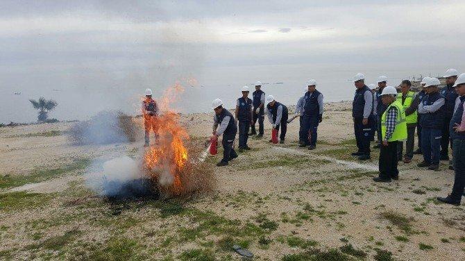 Meski'den Yangın Ve Acil Durum Tatbikatı