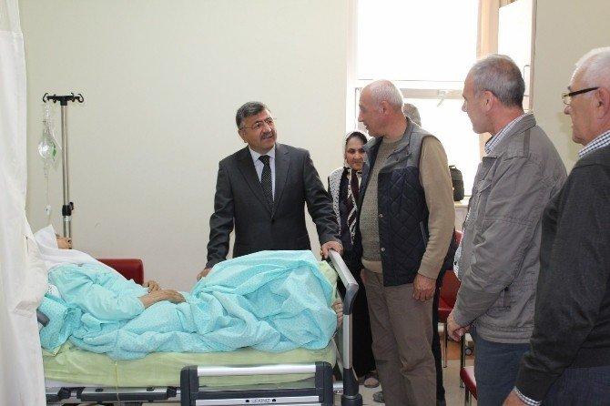 Niğde Belediye Başkan Faruk Akdoğan'dan Hasta Ziyareti