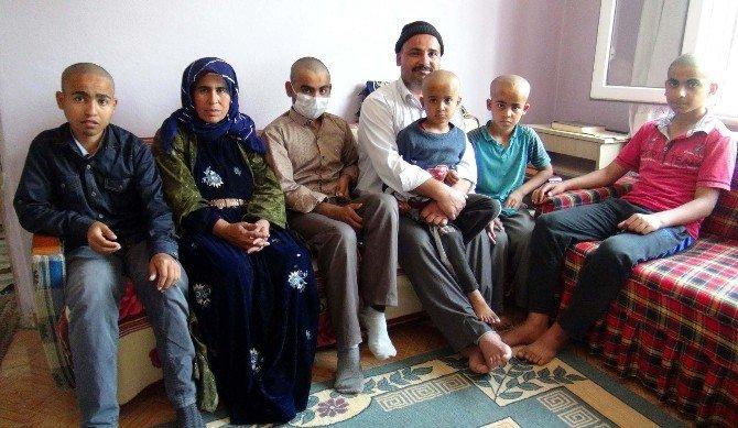 6 Çocuklu Ailenin 4 Çocuğunda Organ Yetmezliği Var