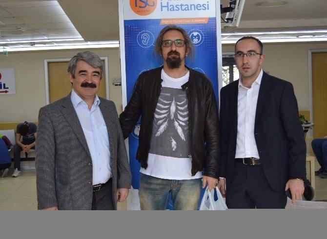 Tsg Anadolu Hastanesi Yönetimi, Çalışanların Ve Hastaların Kandilini Kutladı