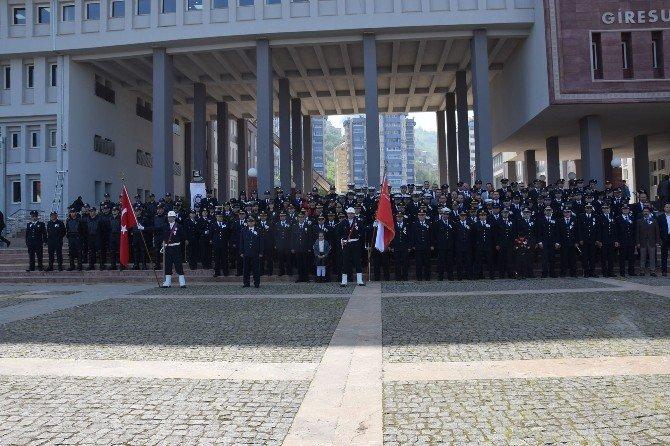 Giresun Emniyetinden Türk Polis Teşkilatının 171. Kuruluş Yıl Dönümü Etkinliği