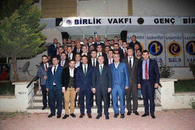 Başkan Tahmazoğlu, Birlik Vakfının Konuğu Oldu