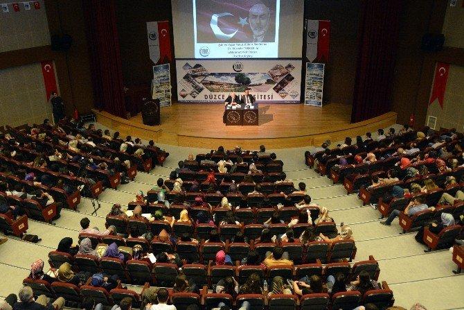 Şair Ve Yazar Yavuz Bülent Bakiler, Öğrencilerle Buluştu