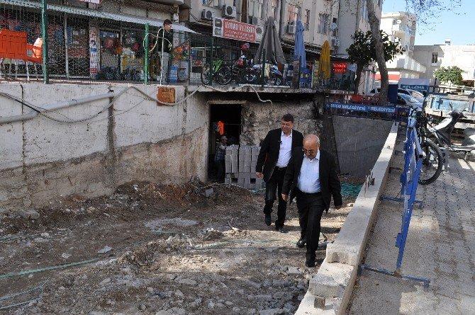 Silifke Belediye Hizmet Binası Bodrum Katına Mescit Yapılıyor