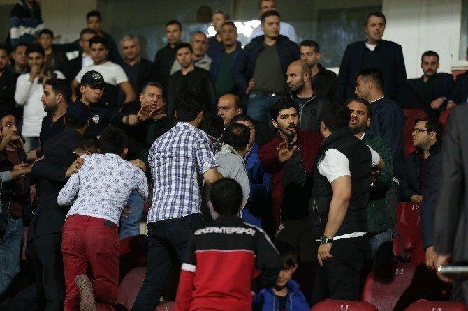 Gaziantepspor Maçı Sonunda Arbede