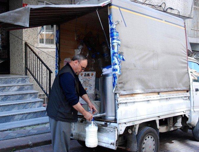Sütçünün Erdoğan Sevgisi