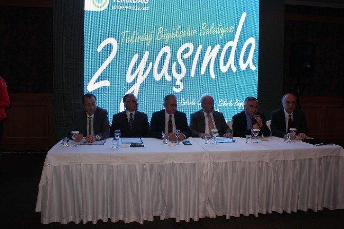 Tekirdağ'da Olaylı Basın Toplantısı
