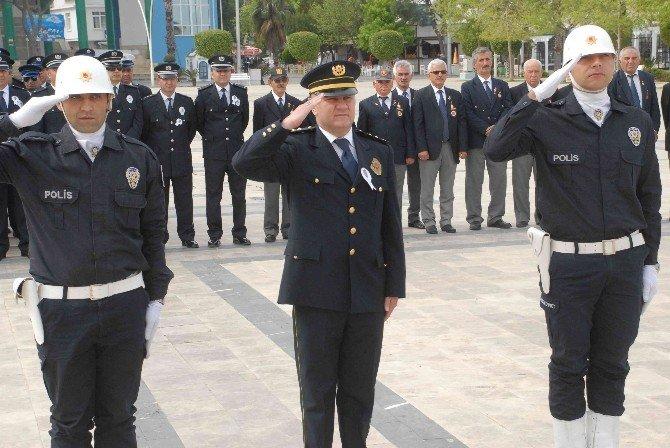 Fethiye'de Başarılı Polisler Ödüllendirildi