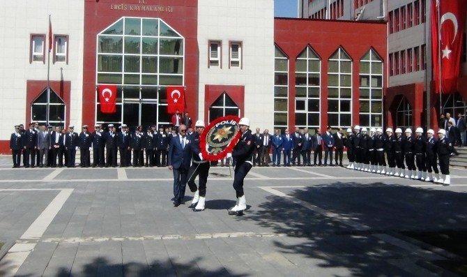 Erciş'te 10 Nisan Polis Haftası Etkinlikleri