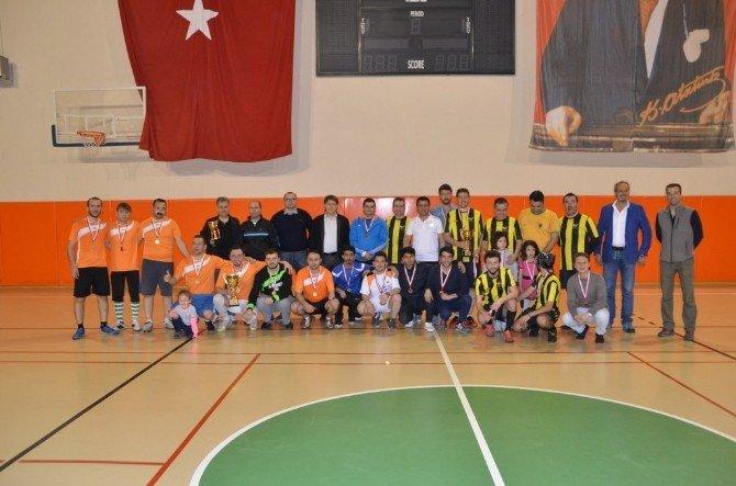 1. Futsal Personel Turnuvası Ödül Töreni