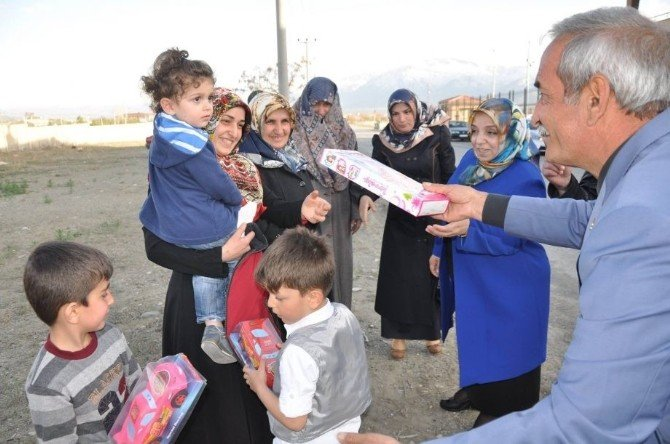 Çocuk Evleri Koordinasyon Merkezinde Ki Çocuklardan Regaib Kandili Programı