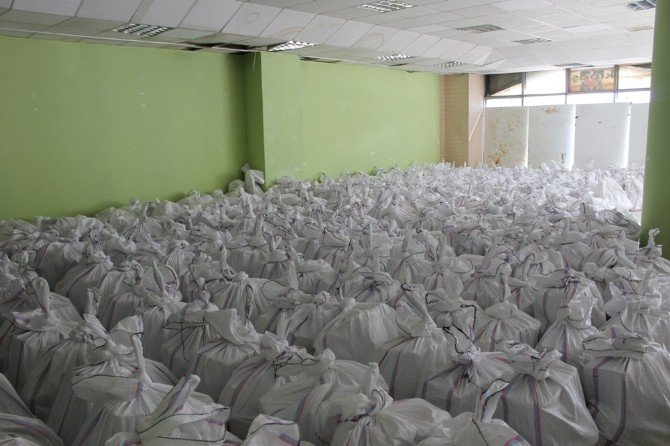 Van TSO'dan Yüksekovalı 400 Aileye Gıda Yardımı