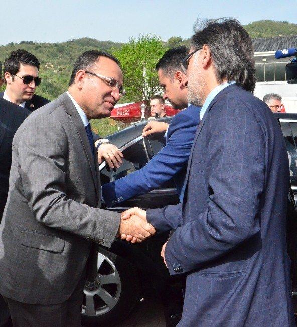 Adalet Bakanı Bozdağ Zonguldak'ta