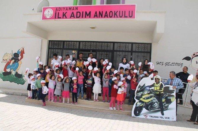 112 Ekibi Anaokulu Öğrencileriyle Buluştu