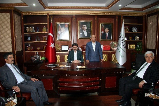 AK Partili Ayhan Sefer Üstün'ün Kilis Temasları