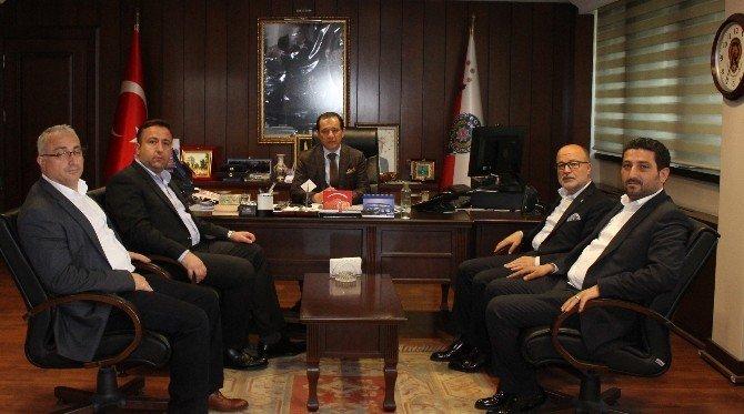 AK Parti Osmangazi'den Emniyete Ziyaret