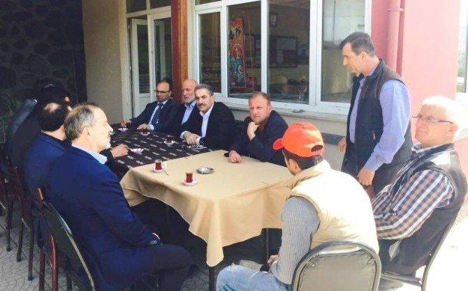 Başkan Metin Oral'dan Gazi Ailesine Ziyaret
