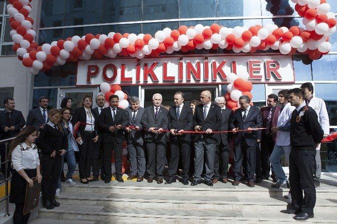 Atatürk Üniversitesi Hastane Oteli, Yeni Hizmet Birimleri Ve Diş Hekimliği Fakültesi Ek Binası Açıldı