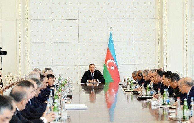 """Cumhurbaşkanı İlham Aliyev: """"Düşmana Gerekli Cevap Verildi"""""""