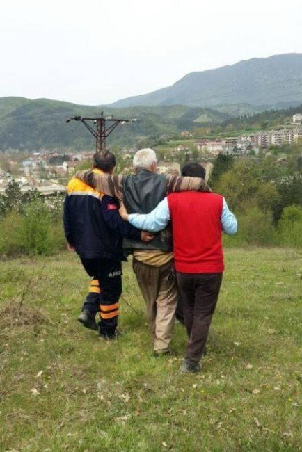 Kaybolan Yaşlı Adam Bulundu