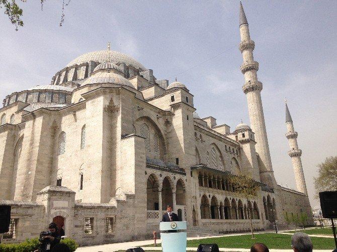 """Başbakan Davutoğlu: """"Mimar Sinan'ın Mübarek Kafatasının Bulunması İçin Adım Atacağız"""""""