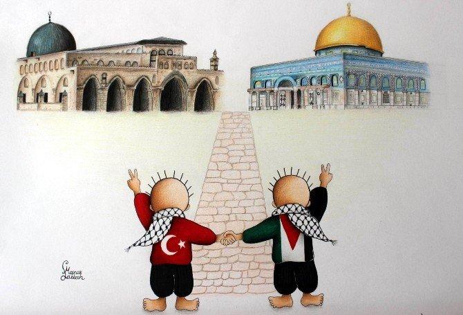 Filistin'de Yaşanan Zulüm Anlatıldı