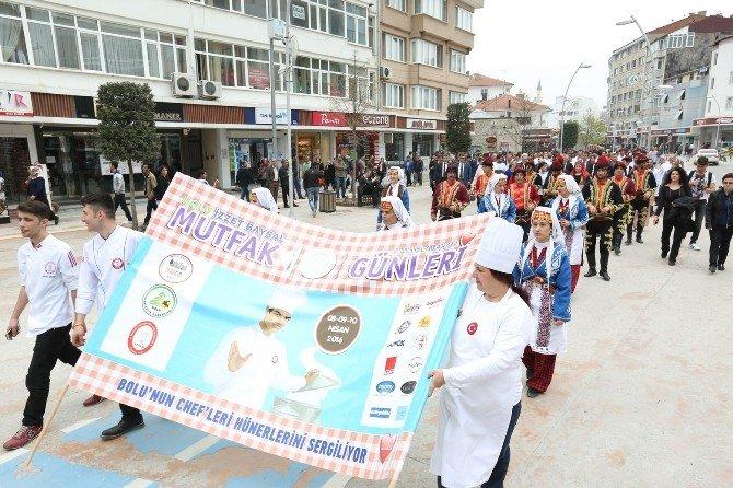 Bolu İzzet Baysal 2. Uluslararası Mutfak Günleri Başladı