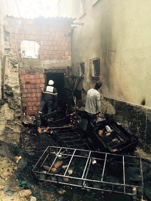 Mangaldan Sıçrayan Kıvılcımlar Evi Yakacaktı