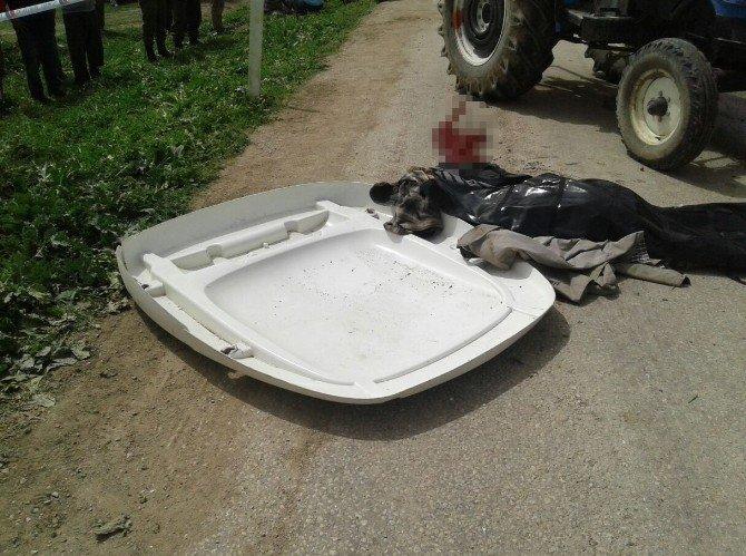 Traktörden Uçan Öğrenci Öldü
