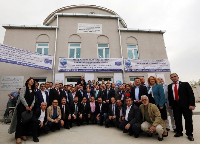 Başkan Akgün'ün Bulgaristan'da Yaptırdığı Cami Törenle İbadete Açıldı