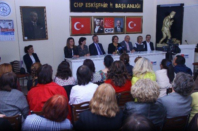 CHP Kadın Kolları Başkanı Köse Eskişehir'de