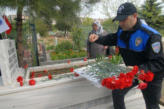 Polis Haftasında Şehit Polisler Unutulmadı