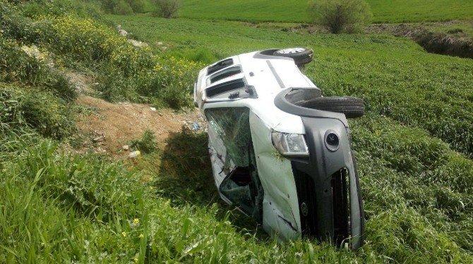 Silvan'da Trafik Kazası: 5 Yaralı