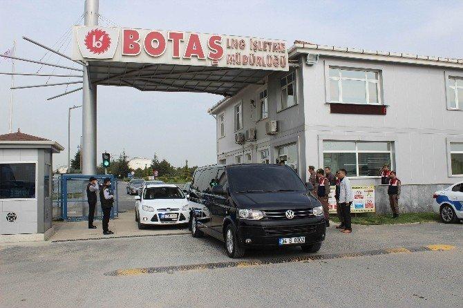 Bakan Albayrak Tekirdağ BOTAŞ Lng Teminali'ni Ziyaret Etti