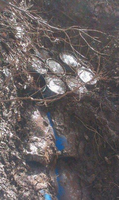 Muş Kırsalında 4 Ton Amonyum Nitrat İmha Edildi
