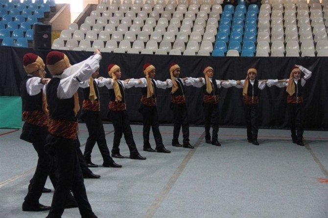 Erzincan'da Halk Oyunları Yarışmaları Tamamlandı