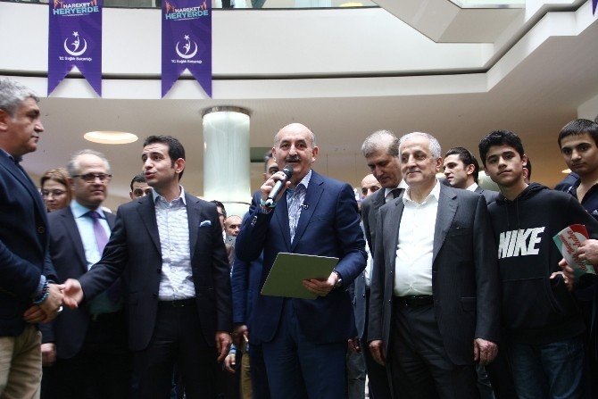 Bakan Müezzinoğlu 'Hareket Her Yerde' Projesinin Startını Verdi