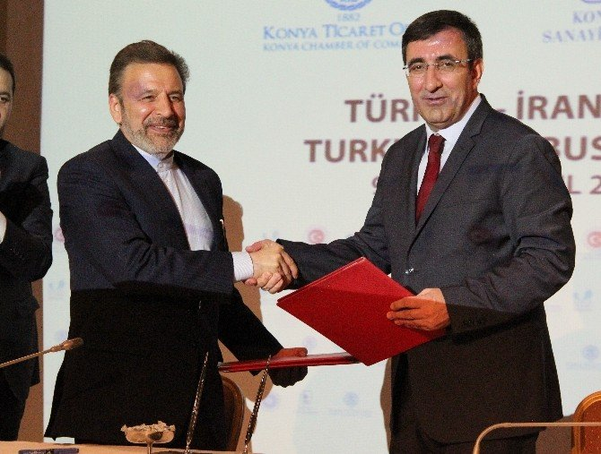 Türkiye-iran İş Formu İmzalandı