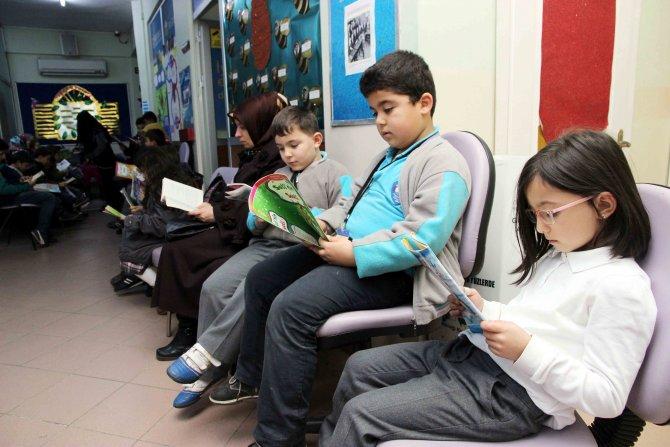 Bilgievi öğrencileri 30 bin kitap okudu