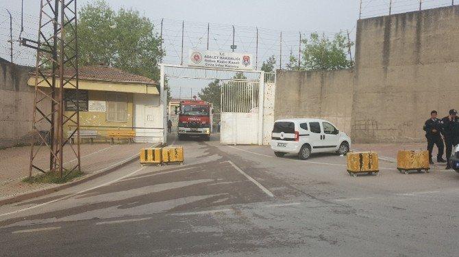 Gebze Kadın Kapalı Cezaevi'nde Yangın Çıktı